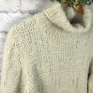 MODA International | Cream Chunky Knit Sweater | M
